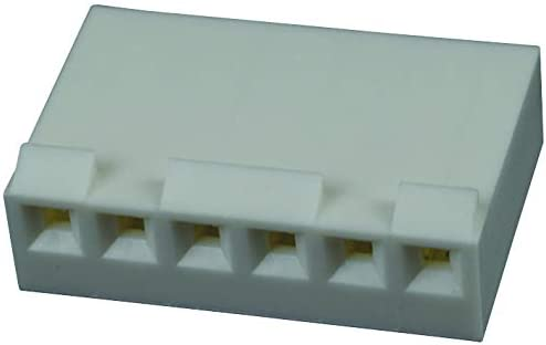 6 Contacts 09-50-8061 Pack of 100 Crimp Wire-To-Board Connector 1 Rows, 3.96 mm KK 396 41695 Series Receptacle