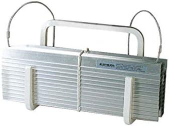 KF-Kompakt N8 - Escalera de emergencia (cable de acero con peldaños de aluminio, longitud 8 m, 3 pisos, peso: 4,5 kg): Amazon.es: Bricolaje y herramientas