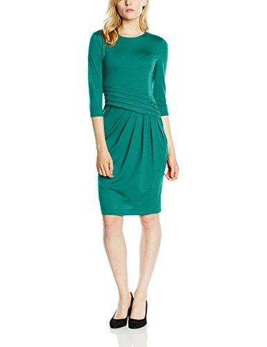 Hot Squash Pleat Waist - Vestido para mujer Verde (Lawn)