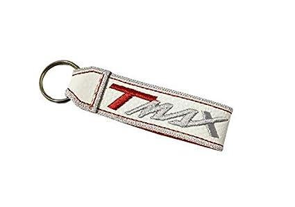 Moto Discovery T-MAX cordón Llavero Doble Cara Blanco ...
