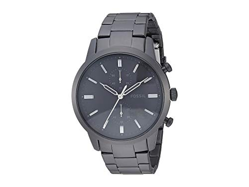 Fossil Men's Townsman - FS5502 Black One - Fossil Watch Wrist Black