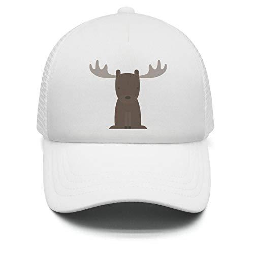 Wlpjsjkd Boy s Girl s Cartoon Cute Moose Baseball hat Fishing caps b6f00ad94c2d