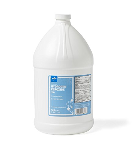 Medline-Hydrogen-Peroxide-Hydrogen-Peroxide-1-Gallon-4-Per-Case-Model-MDS098002-All-sizes