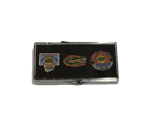Florida Gators Sealed 2007 Champions 3 Piece Lapel / Hat Pin Set