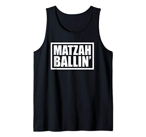 Funny Jewish Matzah Bread Matzo Ball Soup Hanukkah Tank Top ()