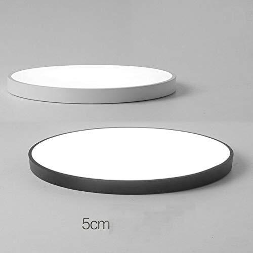 FidgetGear Ultrathin Modern Simple LED Kitchen Bathroom Restaurants Balcony Ceiling Light Black 23cm by FidgetGear (Image #5)