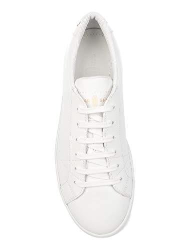 Homme Shoe Kue936054f0009 Cuir Car Baskets Blanc TuOkiPXZ
