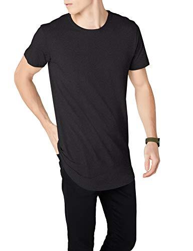 anthracite forme shirt T Classics en grau Herren en Urban shirt de de T forme long f6xFw