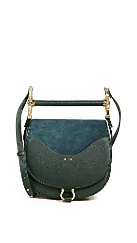 Bag Suede Babylon Women's Green Hunter SANCIA qwgtn