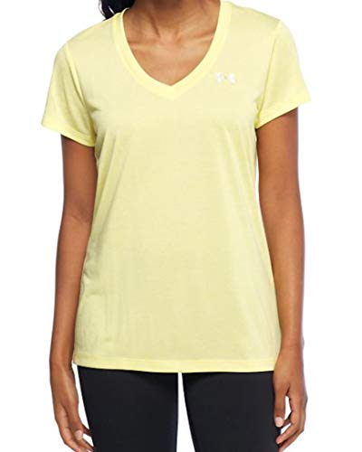 Under Armour Womens Tech V-Neck Twist (Tokyo Lemon, X-Small) by Under Armour (Image #2)