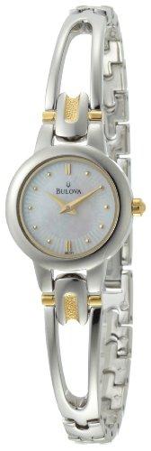 Bulova Women's 98L141 Mother-Of-Pearl Dial Bracelet Watch