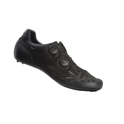 LAKE SHOE CX237 ROAD CARBON TWIN BOA BLACK