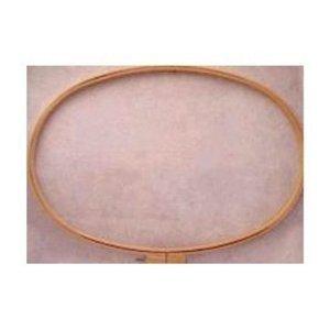 Darice Wood Quilt Hoop 12x20-.75 Depth, Brown