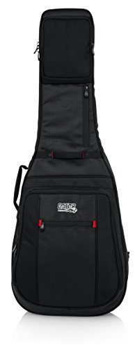 Gator Cases Pro-Go Ultimate Guitar Gig Bag; Fits Acoustic Guitars (G-PG ACOUSTIC)