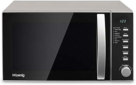 H.Koenig VIO2 Microondas sin Grill, 20 litros, 700 W, Temporizador ...