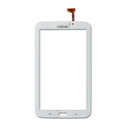 DAZONE 7.0 Touch Screen Digitizer For Samsung Galaxy Tab 3 3G WIFI T210R T210 T210L T211 T217A + 7 Tools(White) (Lcd For Samsung Tab 3)
