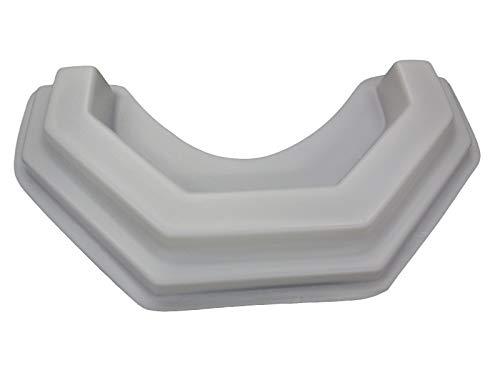 (Large Tree Ring Border Concrete Plaster Mold 5011 )