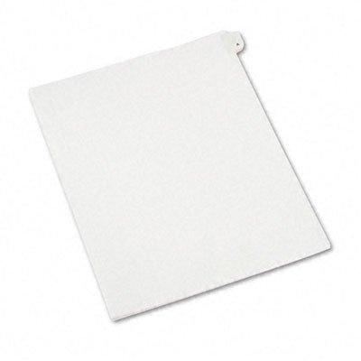 Allstate-Style Legal Side Tab Divider, Title: A, Letter, 25/Pack [Set of 3]