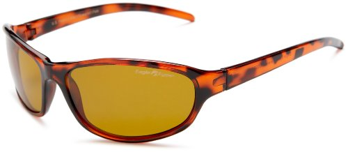 Eagle Eyes Polycarbonate Polarized Sunglasses - The Forenza Tortoise - Wrap Around Sunglasses Designer