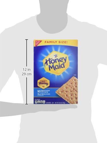 Honey Maid Honey Graham Crackers - Family Size, 25.6 Ounce (Pack of 6) by Honey Maid (Image #10)