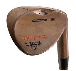 Cobra Trusty Rusty Rust Wedge Left 59 Ture Temper Dynamic Gold Steel Wedge