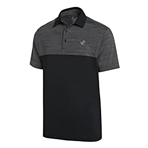 Jolt Gear Dri-Fit Mens Moisture Wicking Two-Tone Polo Cleaning Shirt