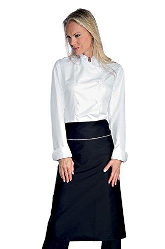Giacca Bianco BiancoS100CotoneManica Chef 22649 AntipanicoTessuto Isacco Lady LungaBottoni m2 190 Gr ARqjL354