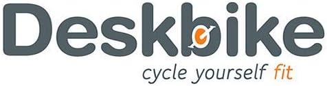 Deskbike® Vélo de bureau en rouge, vert, noir, blanc, bleu, orange, jaune, vélo d'exercice, remplacement de la chaise de bureau par le Deskbike® Medium White-White