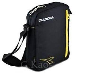Diadora - Borsa Borsello in Tessuto - Adatto per eBook e Mini Pad - Tracolla Regolabile -  Art. LU056