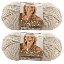 Bulk Buy: Vanna's Choice Lion Brand Yarn (2-pack) (Linen) (Lion Brand Yarn Linen)