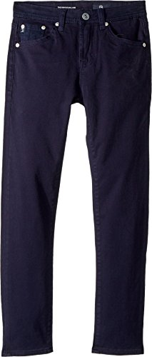 Sueded Twill Pants (AG Adriano Goldschmied Kids Boy's The Kingston Luxe Slim Skinny Sueded Twill In Blue (Big Kids) Blue 10)