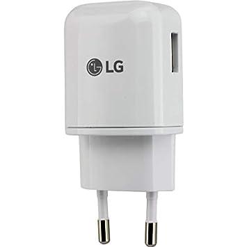 Cargador Original LG MCS-H05ER Carga Rapida para LG G5, G6, Nexus 5X,6P, Bulk