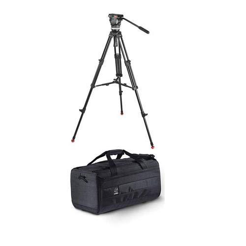 Sachtler 1001 Ace M MSシステム Ace Mフルードヘッド 三脚 中型スプレッダー バッグ カメラマウントプレート パンバーキャンポーターショルダーバッグ Lサイズ   B00GOVD01A