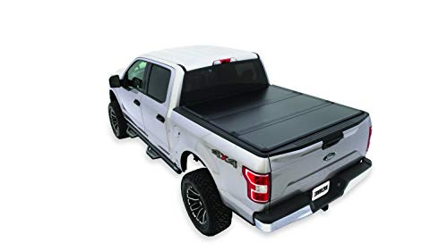 Tonno Pro UF-250 Black UltraFold Hard Panel Tri-Folding Tonneau Cover for 2002-2018 Dodge Ram 1500 | Fit 6.5' Bed