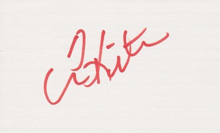Tom Kite Signed - Autographed Golf 3x5 inch Card ()