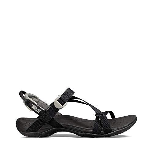 Teva Women's W Sirra Sport Sandal, Black, 9 M US