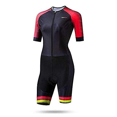 MMMMM Conjunto de Ciclismo para Mujer MTB Camisa Babero/Pantalones ...