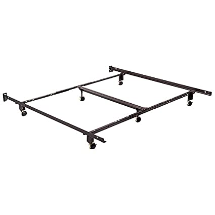 """Full XL Twin XL Queen 82/"""" Steel Bolt-On Bed Side Rails King Size Bed"""