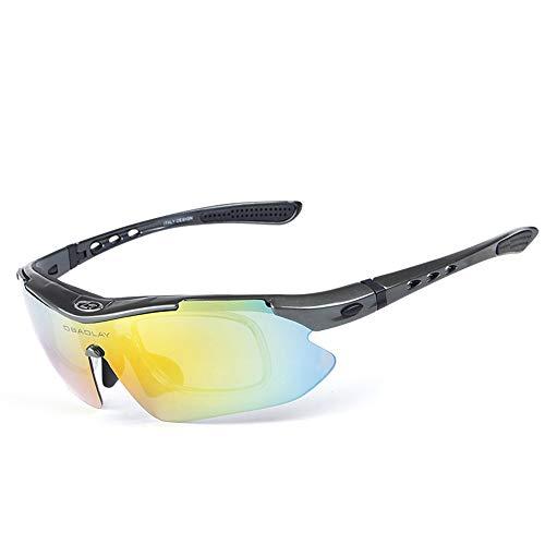 UV400 Sol Color Black polarizadas Gafas Hombres de Glasses Clarity para Lentes 5 para WEATLY SP0868 Sun Exteriores Black 4 protección de yaYqBEw4
