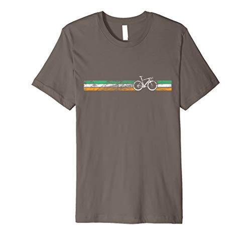 (Cyclist Flag Ireland T-Shirt Irish Bike Racing Cycling)