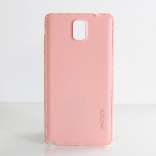 Galaxy Note 3 Back Cover, ANLEY Bubble Pack Series - [Sewn Leather] [Original Fit] Back Battery Cover Plate