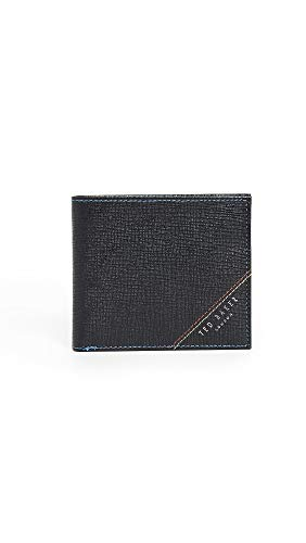 Ted Baker Men's Hidd Bifold Wallet, Black, One Size