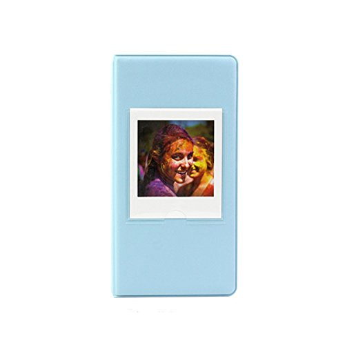 - Clover 64 Pockets Photo Album Book for Fujifilm Instax Square SQ10 SQ6 SP-3 Instant Camera Films - Blue