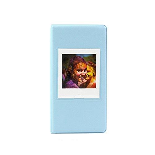Pvc Case Square - Clover 64 Pockets Photo Album Book for Fujifilm Instax Square SQ10 SQ6 SP-3 Instant Camera Films - Blue