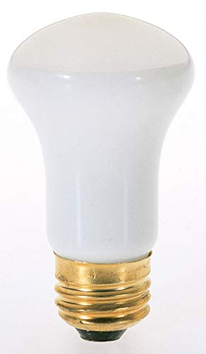 (Satco 40R16 Incandescent Reflector, 40W E26 R16, Frosted Bulb [Pack of)