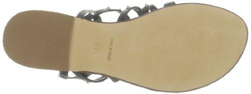 US Polo Assn - Sandalias de cuero para mujer Negro (Noir (Blk))