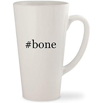 #bone - White Hashtag 17oz Ceramic Latte Mug Cup