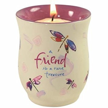 WL 2.75 Inch Friend Tea Light Candle Holder Collectible Decor