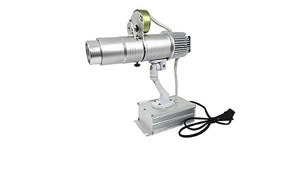 Proyector de luz LED de 40 W con logo de publicidad Gobo giratorio ...