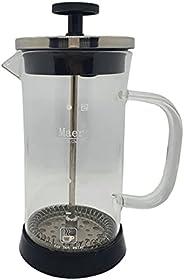 Cafeteira/Cremeira Francesa De Vidro Com Aço Inox - 350 ML